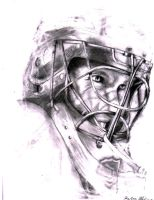 Goaltender Jimmy Howard 35 by gingitsune-chan