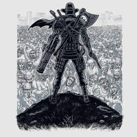 Cowboy Samurai Viking Robot Knight Ninja Pirate VS by Design-By-Humans