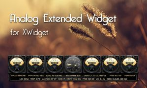 Analog Extended Widget for xwidget by jimking