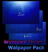 Windows 7 Seven Wallpapers by sorinar