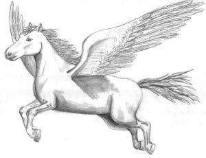 Mythological Pegasus