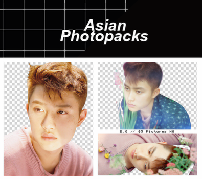 Pack Png 088 // D.O (EXO) (THE WAR) by xAsianPhotopacks