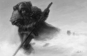 Vayok Traveller by mythrilgolem1