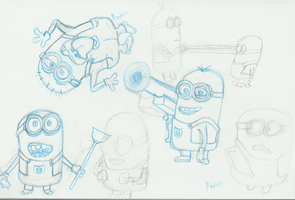 Despicable Me: Minions by Darktwinkle