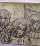 Raven ,hell spawn and ghost rider by nhok9