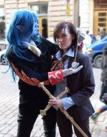 Gankutsuou pair-cosplay. by Ane-ue
