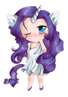 Rarity by lulu-fly