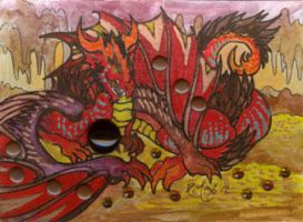 ACEO Dragon 16 by rachaelm5