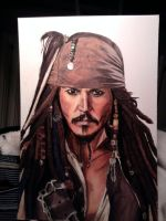 Jack Sparrow Johnny Depp by Korpedo