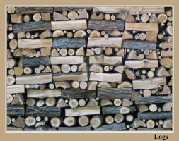 Logs by painting-with-light