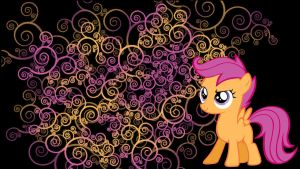 Scootaloo wallpaper by Coall