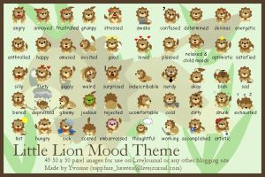 Little Lion Mood Theme by princess-phoenix