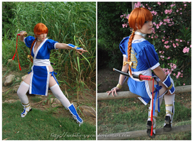 Kasumi Dead or Alive 1 by Yurai-cosplay