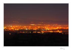 Alessandria NightView I by ValloDan
