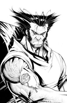 WOLVERINE NOW#5 by Sandoval-Art
