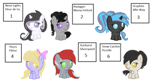 Random 'Ship' Adoptables - READ DESCRIPTION by iPandacakes