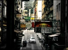 The Chinese Streets. by xJNFR
