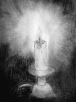 Like a lonely candle burning by Razielus91