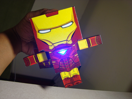 Iron Man prototype LED by randyfivesix