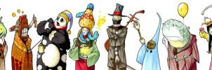 The Procession of Weird Wizards by RandomCushing