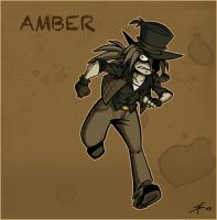 WHA OC Cards - Amber by Boredman