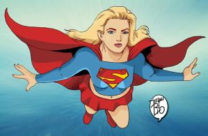 Supergirl color request by mauviana