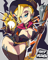Mandatory Witch Mercy Pic by Jhonny-Manic