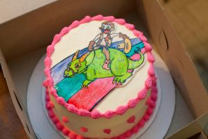 Gay cake by greensprout