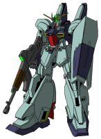 RGZ-91B Re-GZ Custom (mobile suit mode) by unoservix