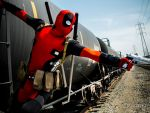 Deadpool's Train by Deadpool790