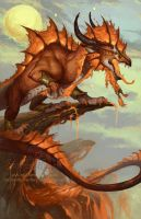 2014 Zodiac Dragons - Leo by The-SixthLeafClover