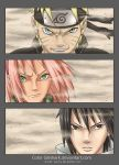 Naruto 632 Team 7 by Giilshark