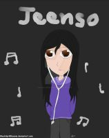 Jeenso - Death Note OC Contest by BlackAprilBlossom