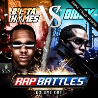 Rap Battles Mixtape Cover by SanGraphics