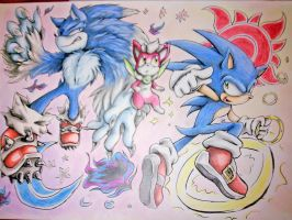 Sonic Unleashed Fan Art by Fly-Sky-High