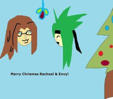 Racheal And Envy OwlSweety [Serect Santa] by Steamland