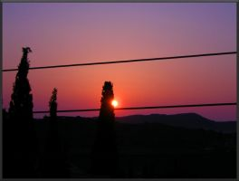 Sun rising - Balcony view by MPAMPoULAs