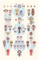 Star Wars Sillies by daabcreative