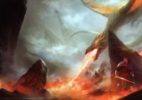 DragonLands Desolation by HELMUTTT