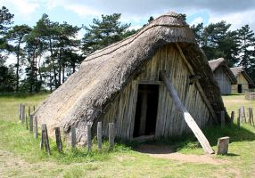 West Stow Anglo Saxon Village 4 by OghamMoon