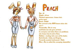 Character- Peach by stalfoss
