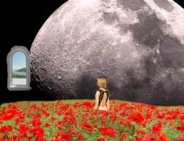 surreal poppies by opium-luvs-blue
