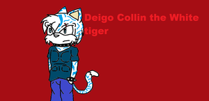 Deigo collin the white tiger by Mighty-C-amurai