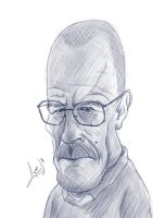 Walter White Sketch by lepeART