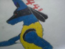 Lucario by meowchi75
