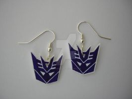 Decepticon Earrings by Letohatchee