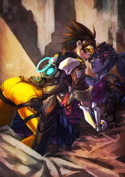 What tracer and widomaker do when they are alone  by Bdog3120