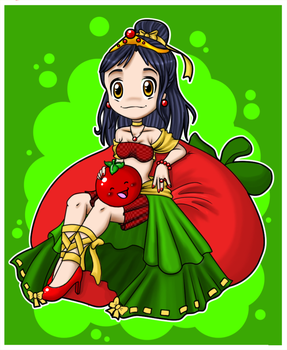 Reina de los tomatoes by AhMuse
