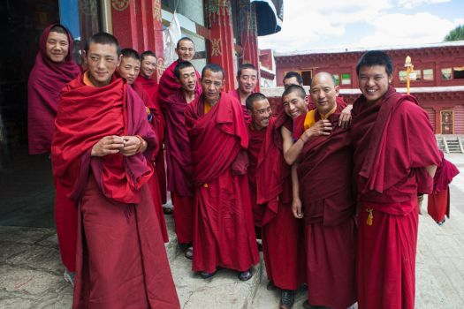These Friendly Monks Need Your Help by phlezk