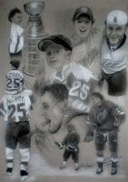 Darren McCarty and Son by f-anne-tastic